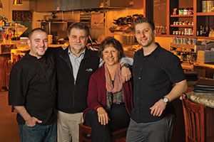 The Moreno Family, Lillian's Italian Kitchen